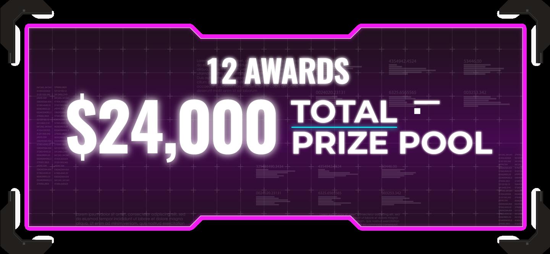 Total Prize Pool $24,000