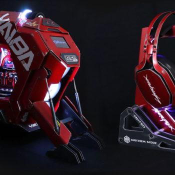 YAIBA KUSANAGI CYBERPUNK 2077 with headphones MH750 MASTERPULSE